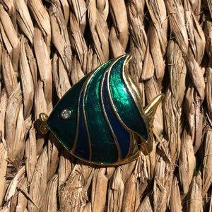 Tropical 🐠 fish Brooch